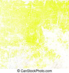 afligido, fondo amarillo, textura