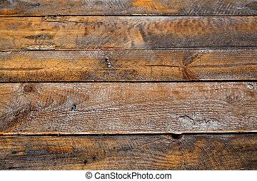 afligido, madera, natural