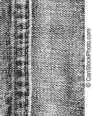 afligido, tejer, tela, textura, cubrir