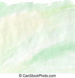 afligido, verde claro