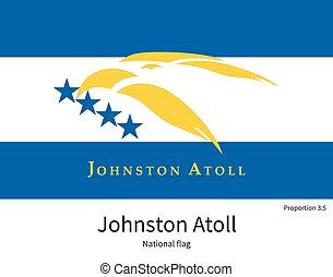 afmetingen, nationale, kleuren, vlag, johnston, element,...