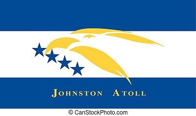 afmetingen, standaard, onofficieel, vlag, johnston, atol