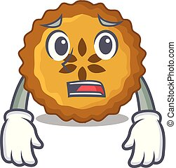 Afraid apple pie on the character board