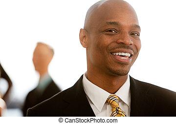 afričan američanka, business portrét