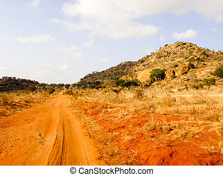afričan, cesta