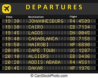 Africa airports