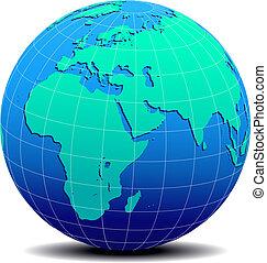 Africa, Arabia India Global World