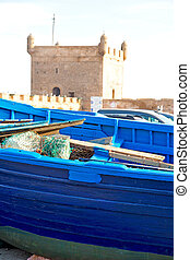 africa, astratto, vecchio, barca, marocco