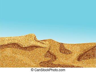 africa desert, coast dune
