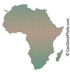 Africa Dot Map