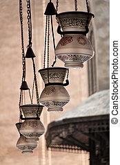 egypt, cairo, sultan hassan mosque - africa, egypt, cairo,...