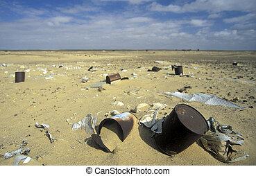 AFRICA EGYPT SAHARA FARAFRA WHITE DESERT - the Landscape and...