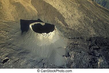 AFRICA FRANCE LA REUNION - The Landscape allrond the Volcano...
