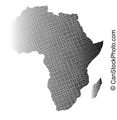 Africa in Halftone