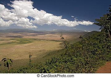africa landscape 011 ngorongoro