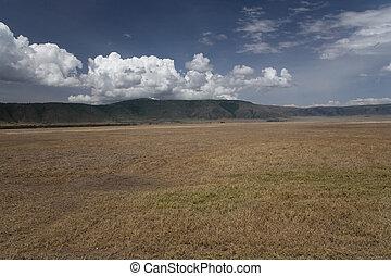 africa landscape 037 ngorongoro