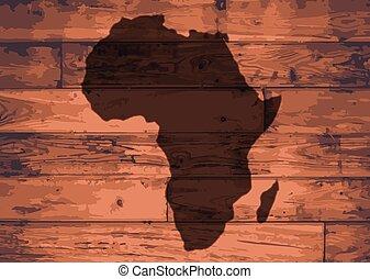 Africa Map Brand