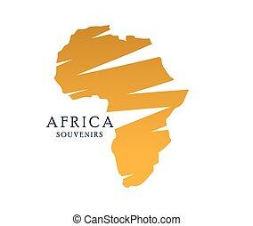 Africa Map Design