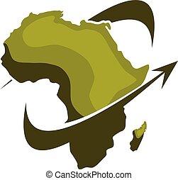 Africa Safari Travel Logo Design Template Vector