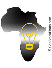 africa -  Africa with electricity