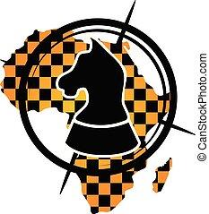 Africa Strategy Logo Design Template Vector