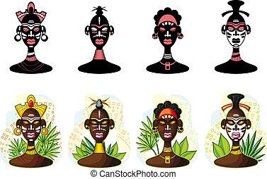 africaine, gens