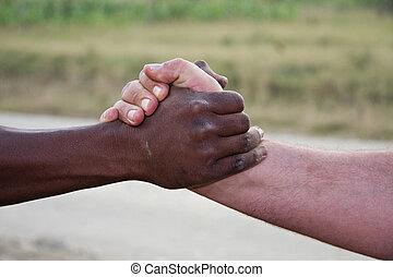africaine, salutation