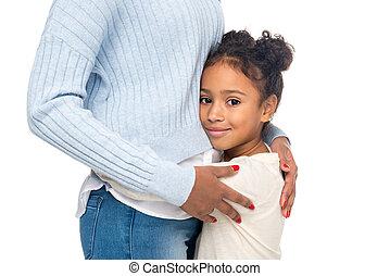 african american, anya lány