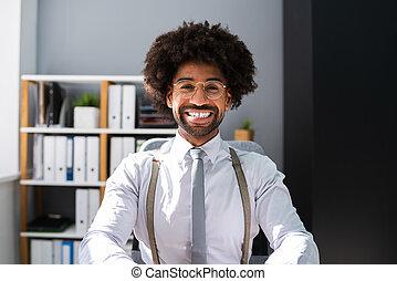 African American Black Man Portrait