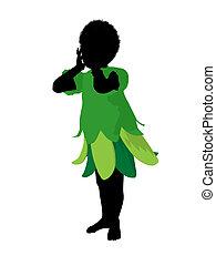African American Boy Fairy
