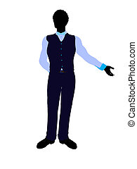 African American Business Man Silhouette - African american ...