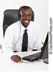 African American businessman