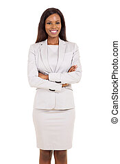 african american businesswoman portrait