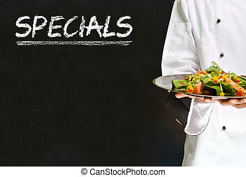 African American chef specials
