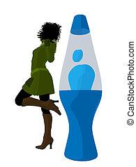 African American Disco Girl - African american disco girl...
