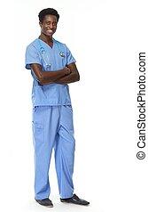 African American Doctor.