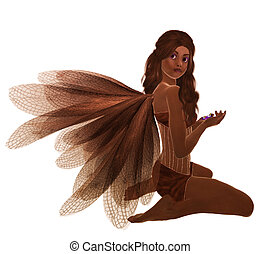 African American Fairy