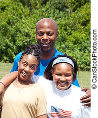 african-american, familie
