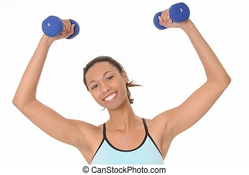 African American Health And Fitness Girl