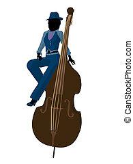 African American Jazz Illustration - African american jazz...