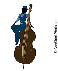 African American Jazz Illustration - African american jazz...