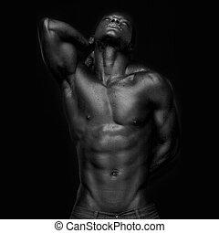 african american, külső külső