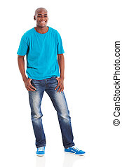 african american male model - handsome african american male...
