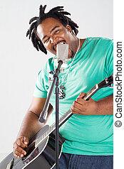 african american male singer