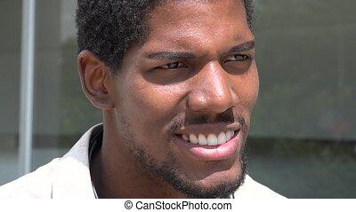 African American Man, Black Male