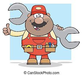African American Mechanic