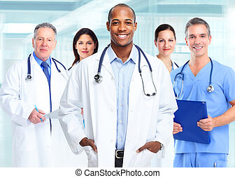 African american medical doctor man. - Medical physician...