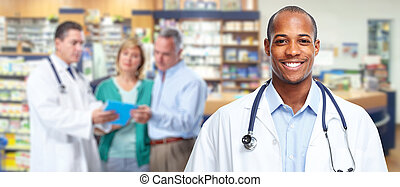 African american medical doctor man. - Medical physician ...