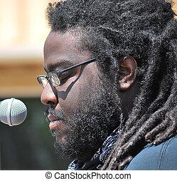 African american musician.
