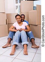 african american, newlyweds